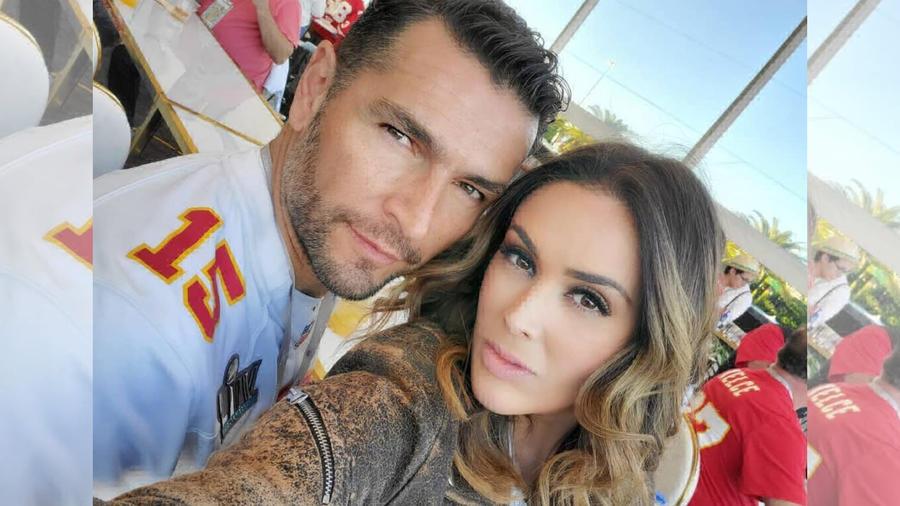 Jacky Bracamontes y su esposo Martin Fuentes