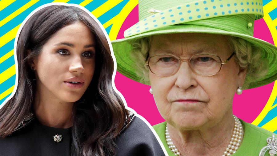 Meghan Markle contra la reina
