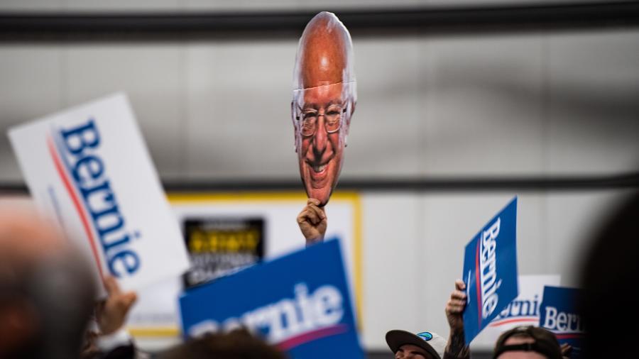 Bernie Sanders tuvo un fuerte apoyo latino durante las votaciones de este Supermartes.
