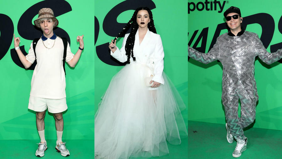 Spotify Awards looks arriesgados