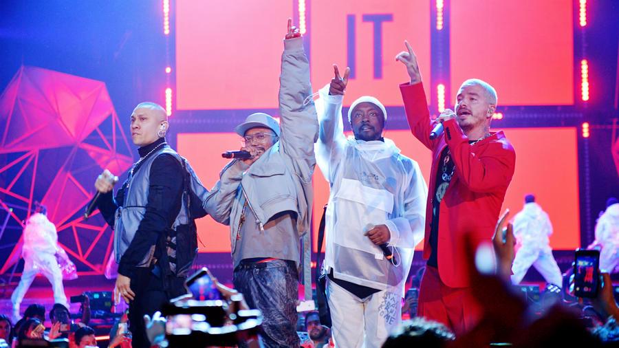J Balvin en Spotify Awards