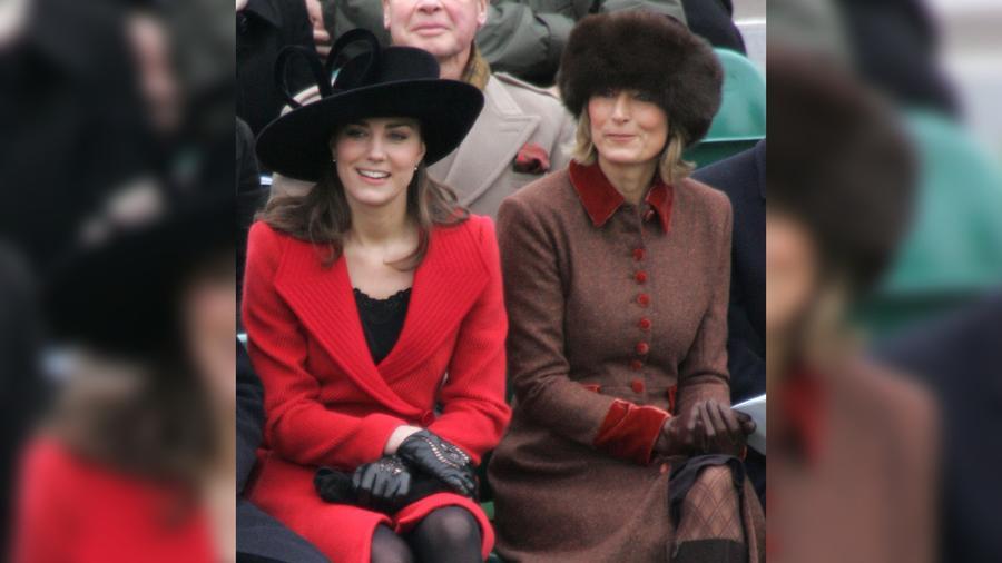 Kate Middlenton y su mamá Carole Middleton
