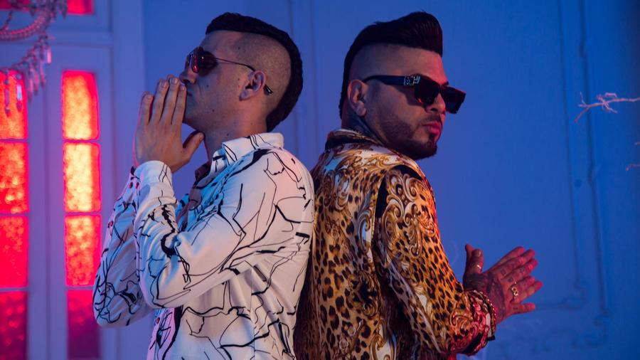 "Lenier y Chacal en ""Ganas de Ti"" video"