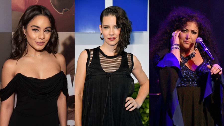 Vanessa Hudgens, Evangeline Lilly y Amanda Miguel
