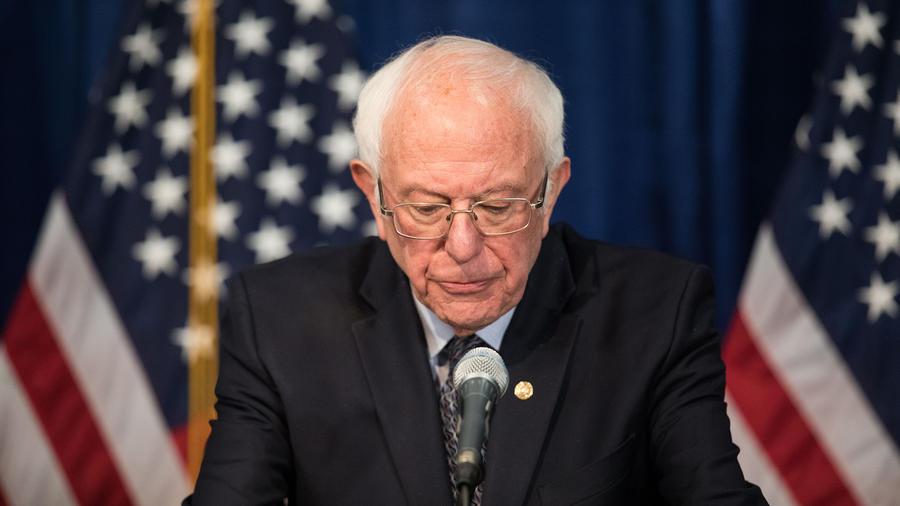El senador Bernie Sanders.