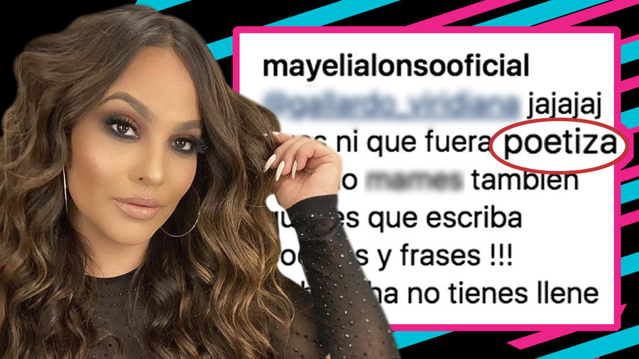 Mayeli Alonso criticas frases
