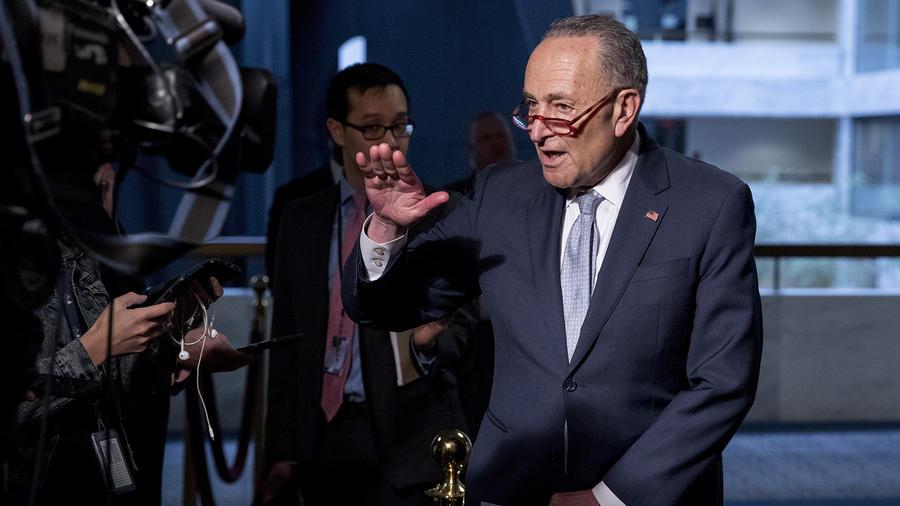 El senador demócrata Chuck Schumer.