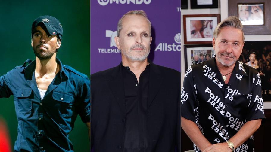 Enrique Iglesias, Miguel Bosé, Ricardo Montaner
