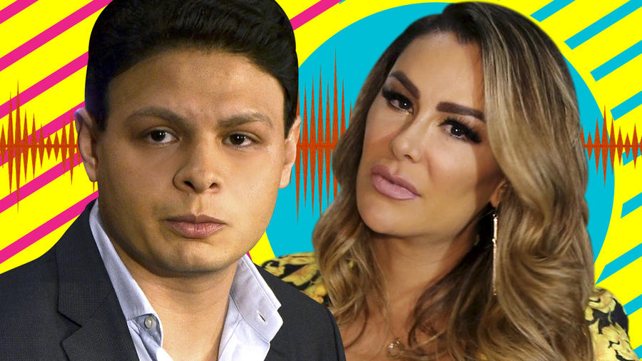 Ninel Conde audios Giovanni Medina insultándola