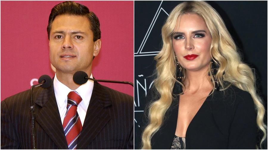 Tania Ruiz y Peña Nieto