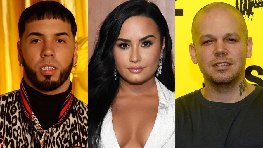 Anuel AA, Demi Lovato y Residente