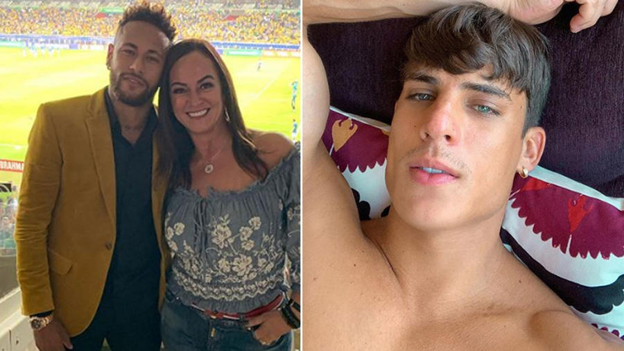 Neymar y Tiago Ramos