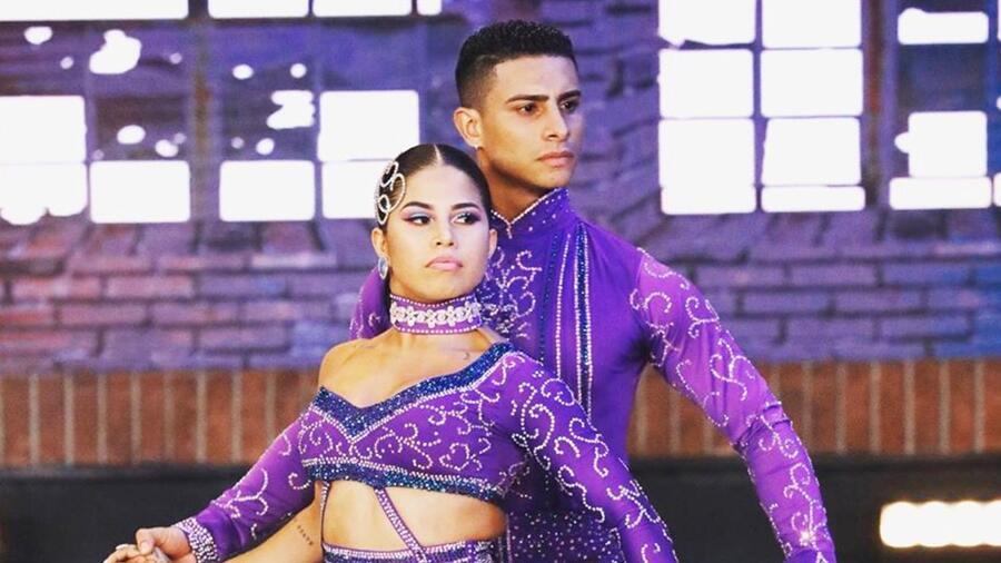Pareja colombiana World of Dance