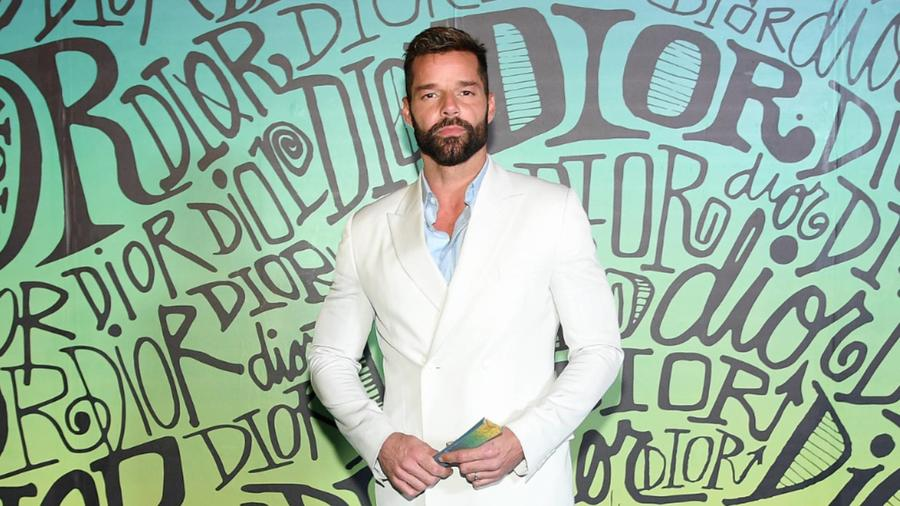 Ricky Martin en el show de Dior en Miami