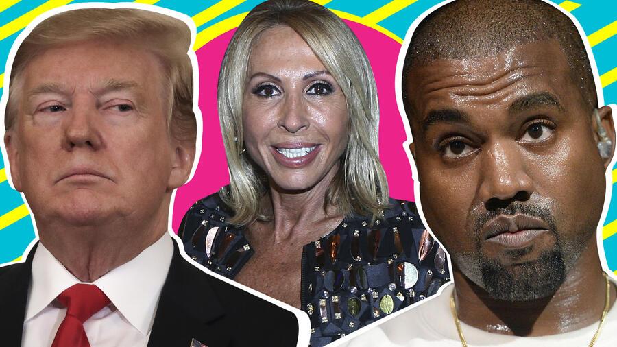 Laura Bozzo contra Trump y Kanye West