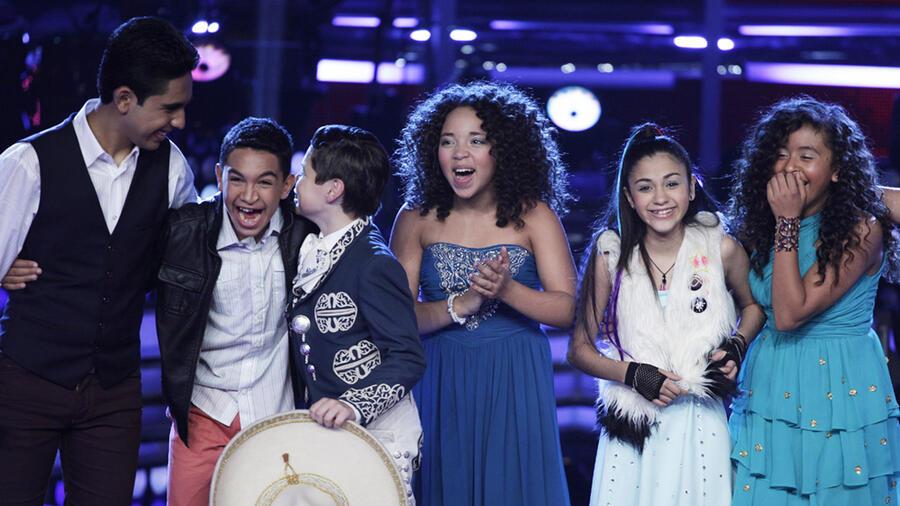 Participantes en la semifinal de La Voz Kids