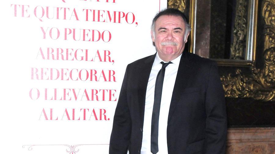 Jesús Ochoa en un evento en México, 2018.