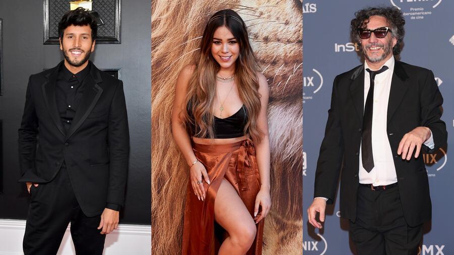 Sebastián Yatra, Danna Paola y Fito Páez