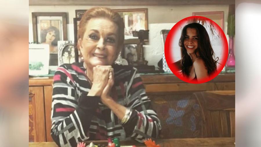 Talina Fernández y su nieta Paula