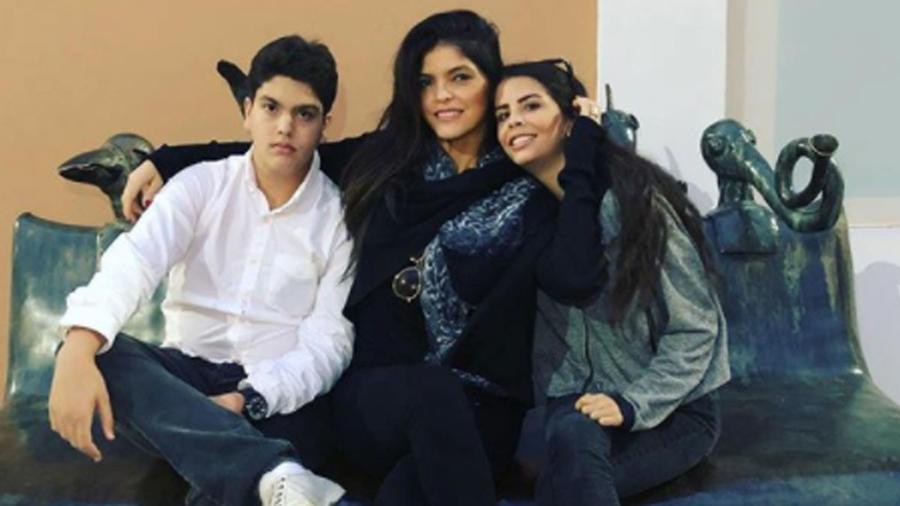 Ana Bárbara y los hijos de Mariana Levy