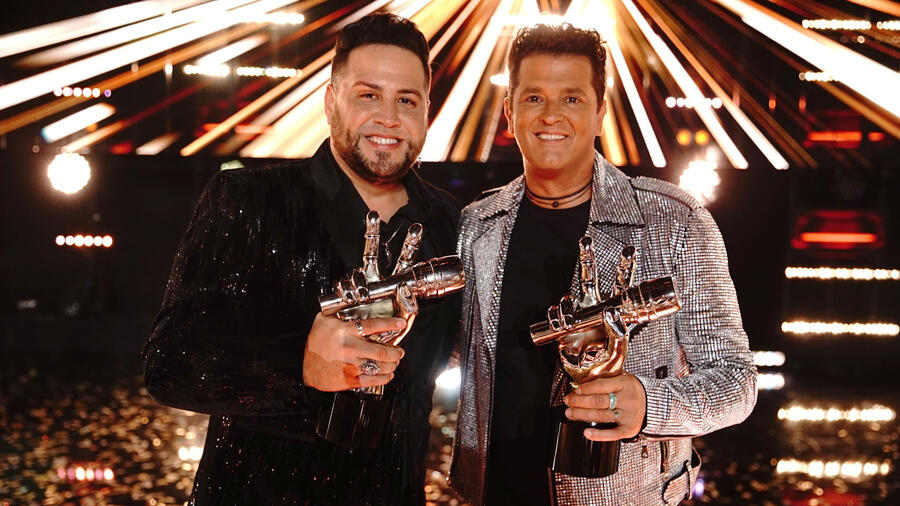 Sammy Colon y Carlos Vives son los ganadores de La Voz US 2
