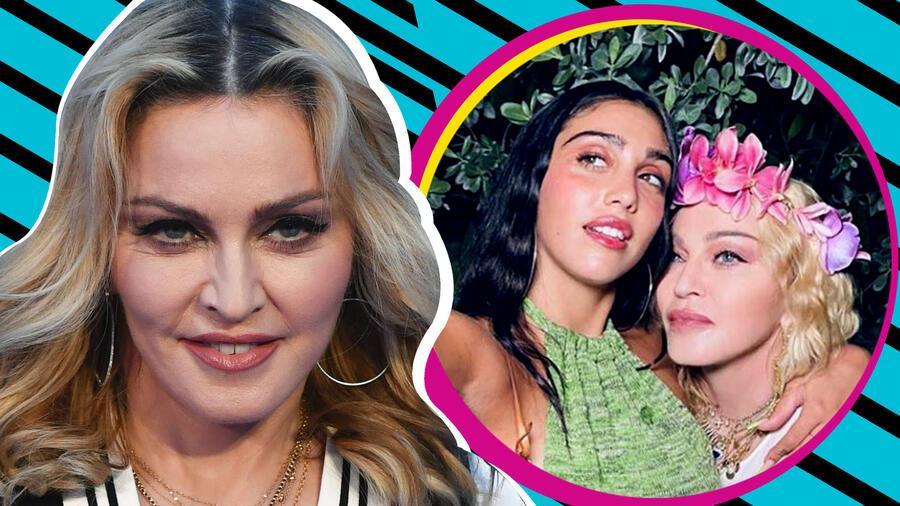 Madonna hija axila