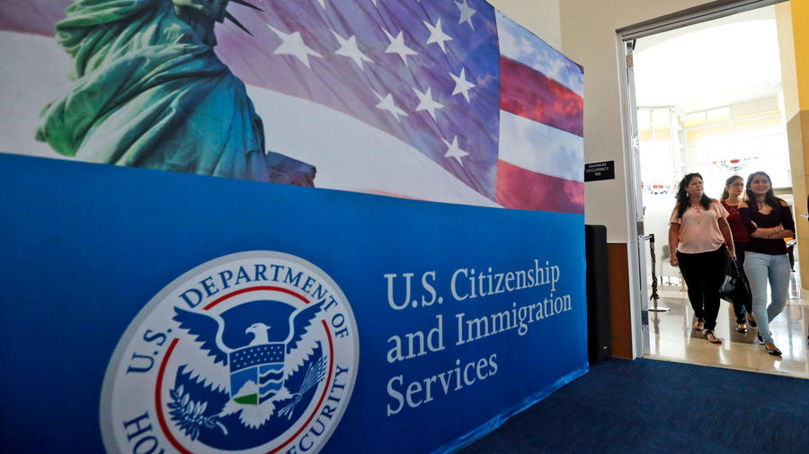 Una oficina de Inmigración en Estados Unidos en una imagen de archivo.