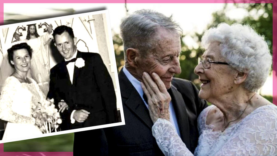 Abuelitos 60 años de casados