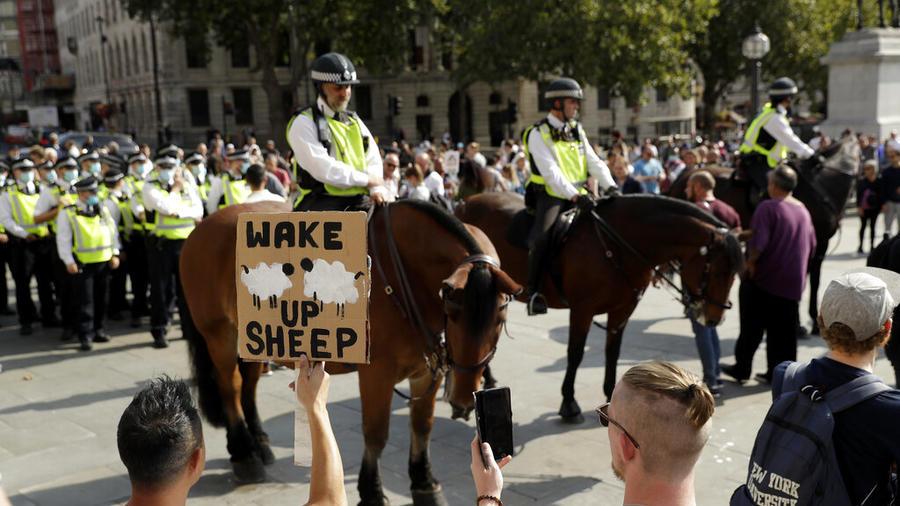 Manifestación en Londres.