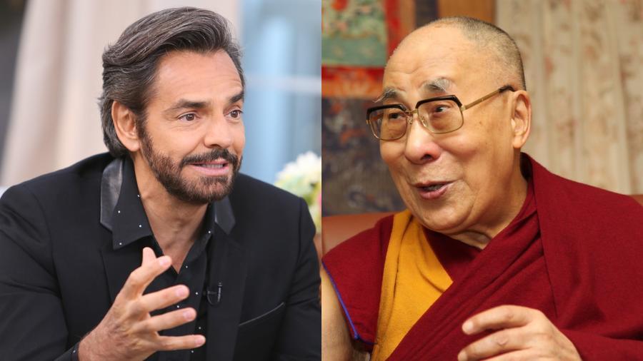 Eugenio Derbez y Dalai Lama