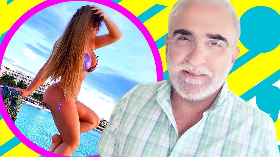 Vicente Fernández jr novia defiende