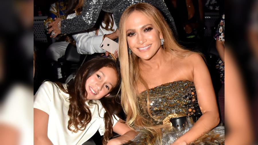 Jennifer Lopez y Emme en los MTV Video Music Awards 2018