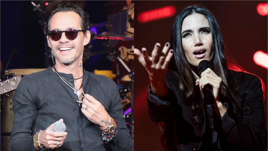 Marc Anthony e India Martínez