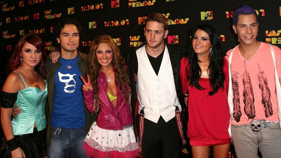 RBD en los MTV Latin America 2007