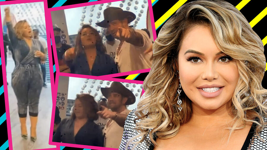 Chiquis Rivera y Mr. Tempo en México cover