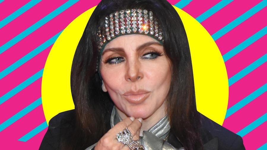 Veronica Castro sin maquillaje 68 años