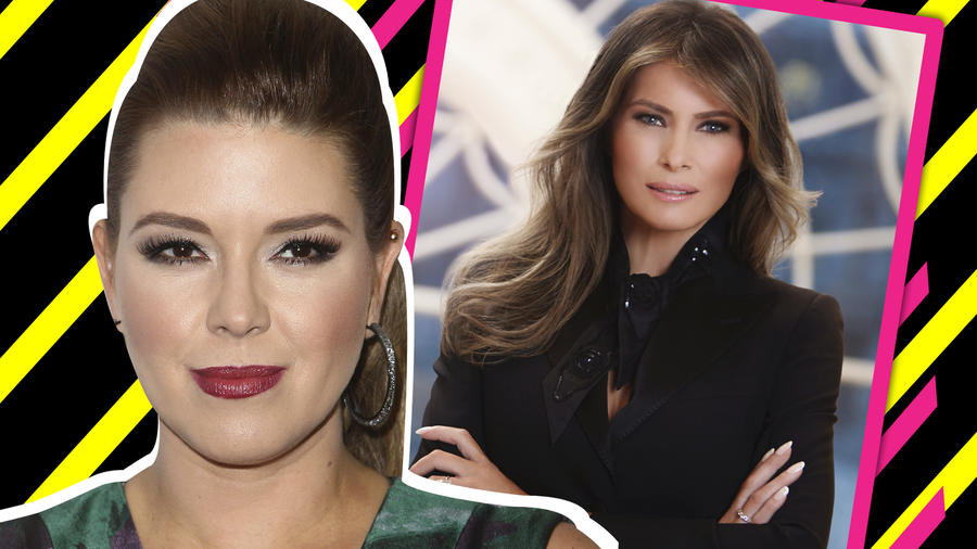 Alicia Machado vs Melania Trump