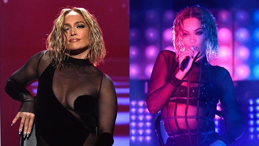 Jennifer Lopez y Beyoncé
