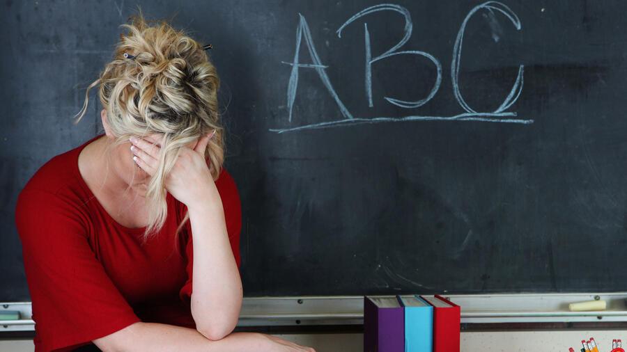 Profesora frustrada