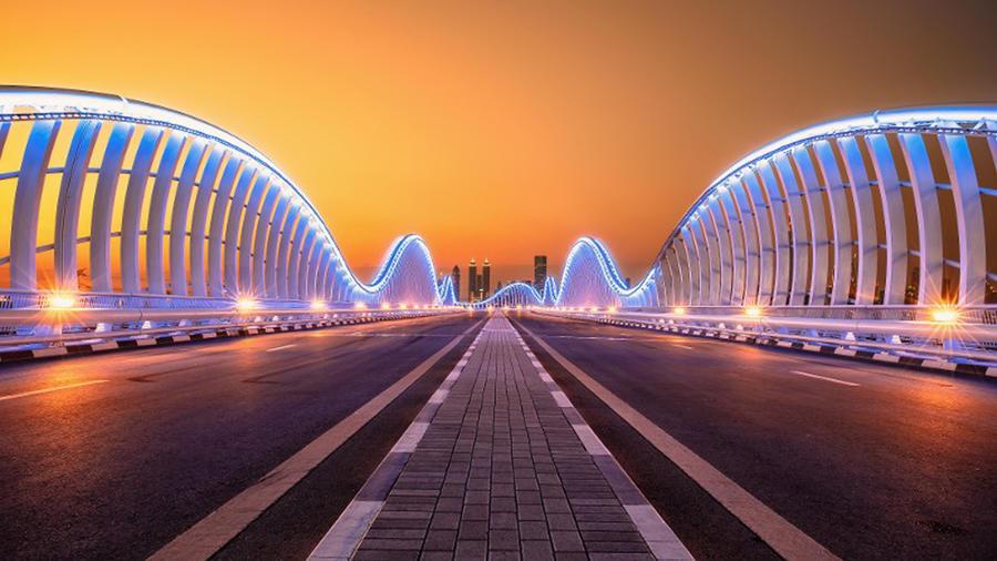 Ciudad recta en Arabia Saudita