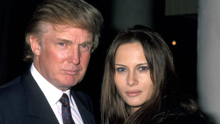 Donald y Melania Trump 1998