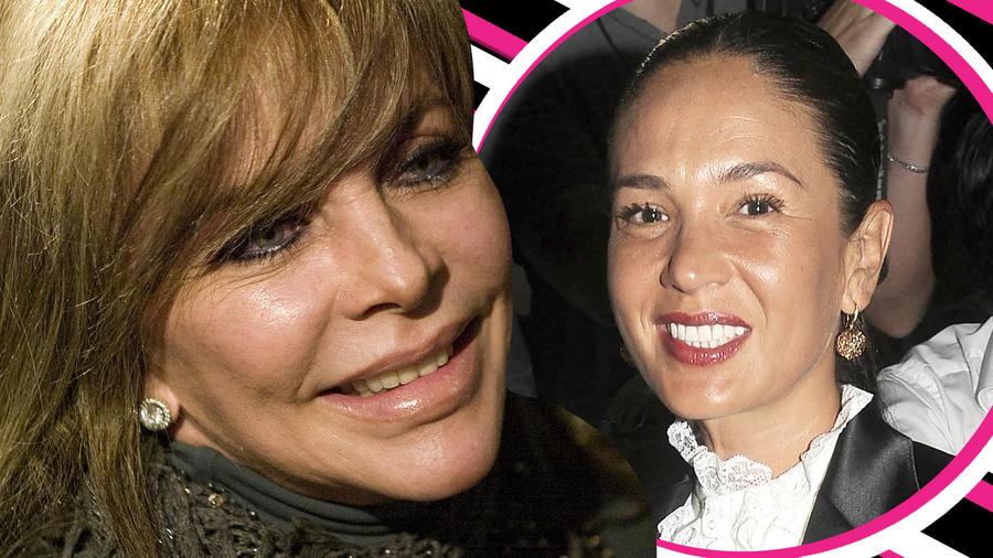 Yolanda Andrade verónica Castro besos