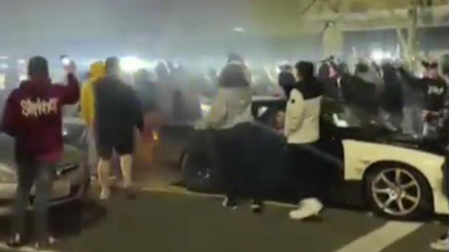 Policía atropella en Tacoma