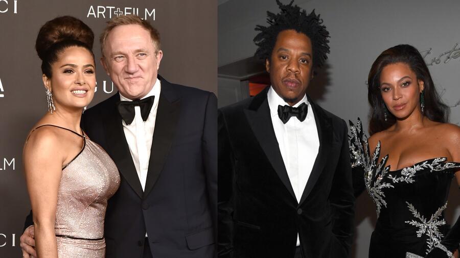 Salma Hayek y Francois-Henri Pinault, Beyoncé y Jay-Z