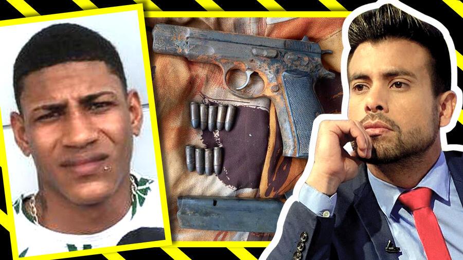 Efraín Ruales: Más detalles del arma y del sicario capturtado
