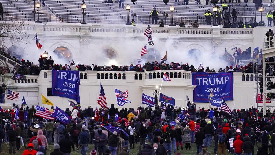 Un momento del asalto al Capitolio del pasado día 6 de enero.