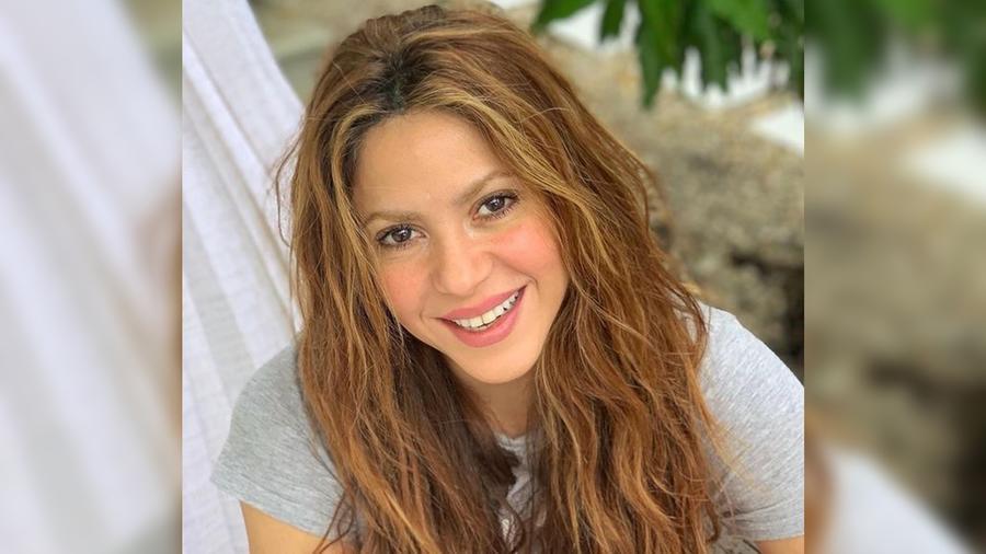 Shakira sonriendo