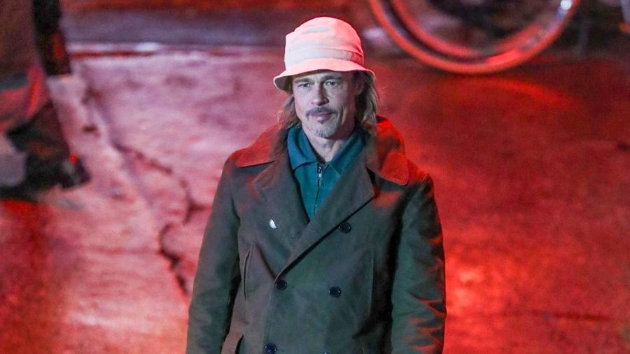 Brad Pitt, set de 'Bullet Train'