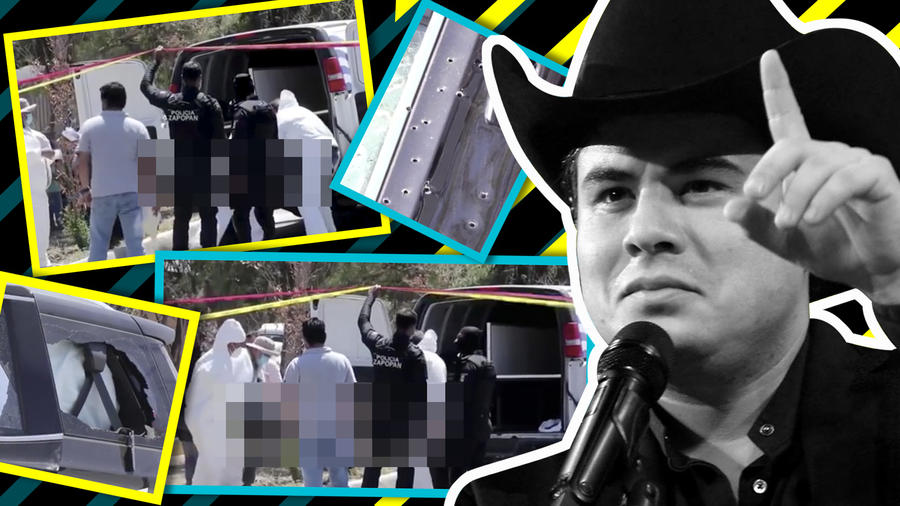 Alfredo Olivas imágenes de la masacre a su hermano