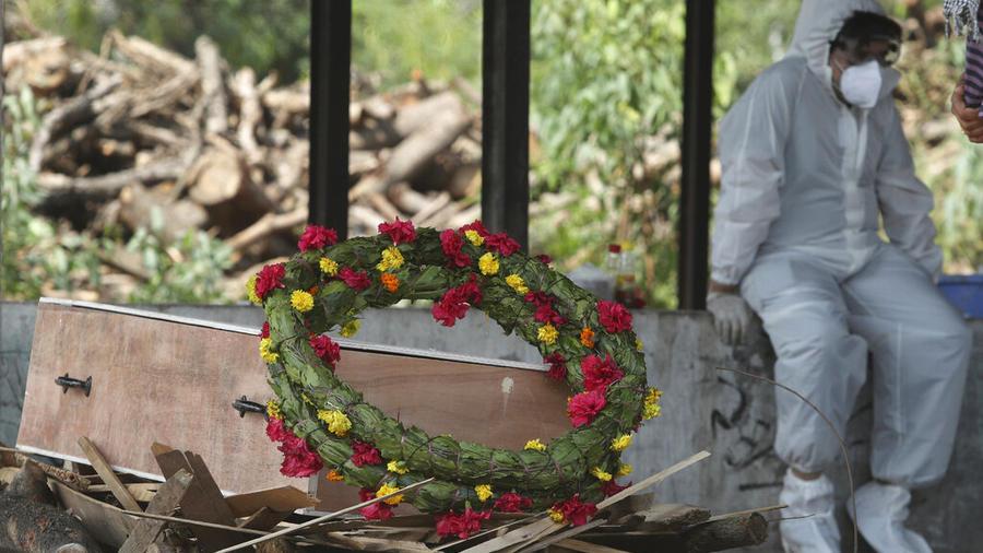 La India superó esta semana las 200,000 muertes por COVID-19